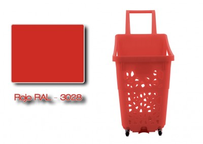 Rouge RAL 3028