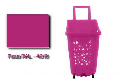 Colores-Shopping-Kart-Rosa-RAL-4010-Galeria-Colores