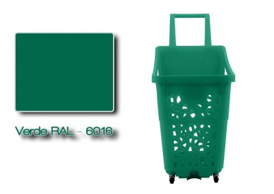Colores-Shopping-Kart-Verde-RAL-6016-Galeria-Colores